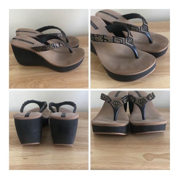 Ipanema Shoes   Ipanema Bolero Wedge